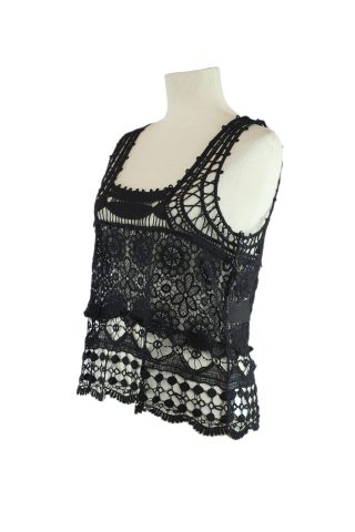 Musculosa Crochet - Forever 21