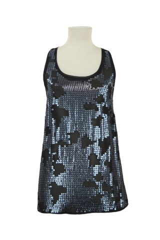 Top - Urban Outfitters Sparkle & Fade